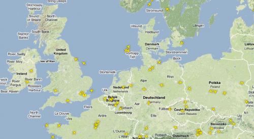 Luftraum Westeuropa