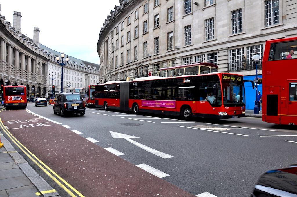 Bendy Bus London 2009