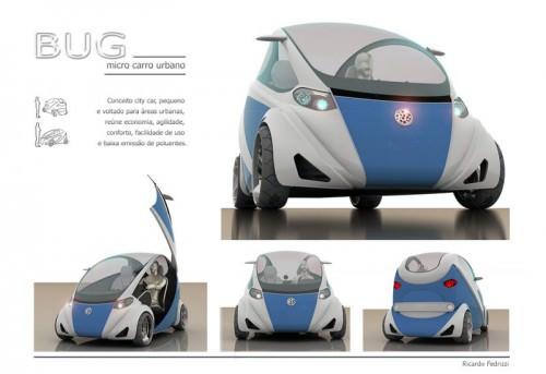 Bug Ricardo Fedrizzi Konzeptcar Elektroauto