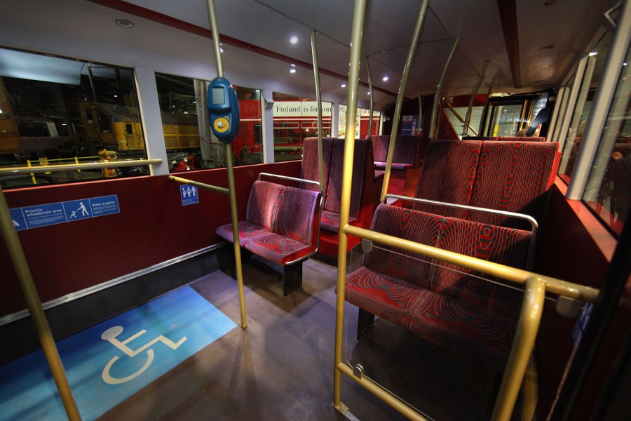 London Doppeldecker Bus Routemaster Modell Prototyp