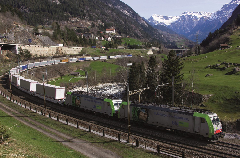 BLS CargoBeamer Gotthardachse