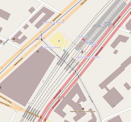 Karte Dresden Mitte