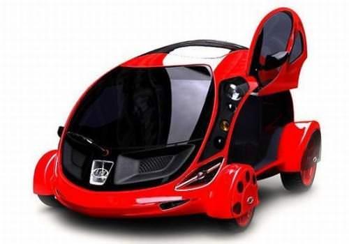Kawbaba-3000 Elektroauto Microcar