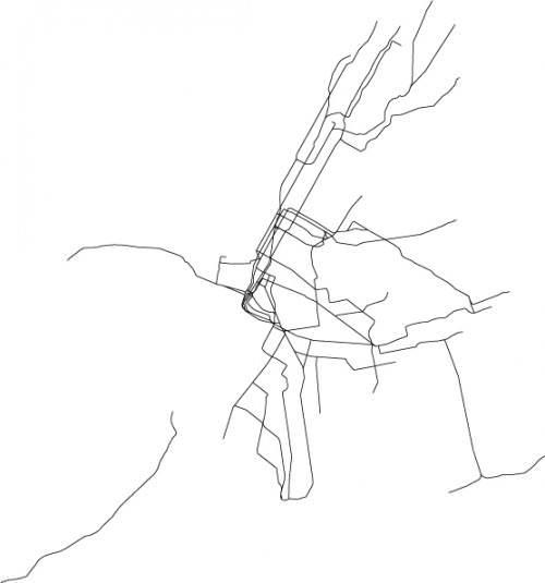 U-Bahn U-Bahnnetz Netz New York
