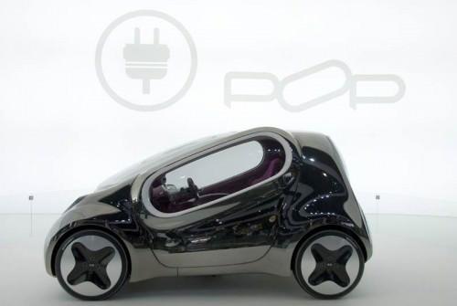 KIA POP Konzeptaut Elektroauto Microcar