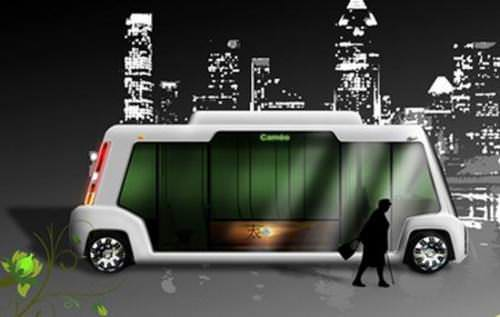 Cameo Kompaktbus Elektrobus Stadtverkehr Zukunft Martin Pes