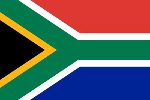 Flagge Südafrika Fußballweltmeisterschaft 2010 Infrastruktur