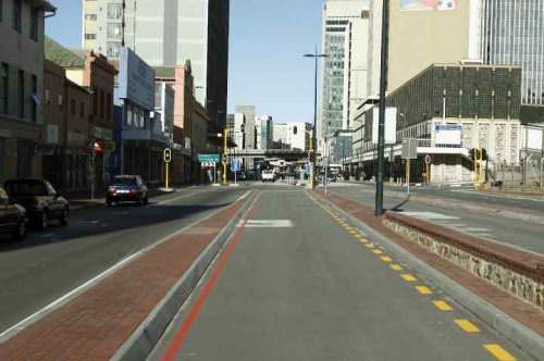 BRT Port Elizabeth Bau Busspur