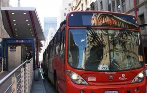 Rea Vaya Südafrika BRT Johannesburg Fußballweltmeisterschaft 2010
