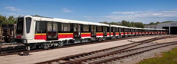 Siemens Inspirio Warschau Metro Polen