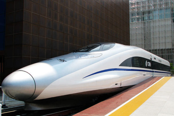 CRH380A-1:1-Modell bei der Shanghai World Expo 2010