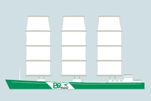 B9 Segelschiff Frachtschiff Warentransport Seeverkehr Revolution
