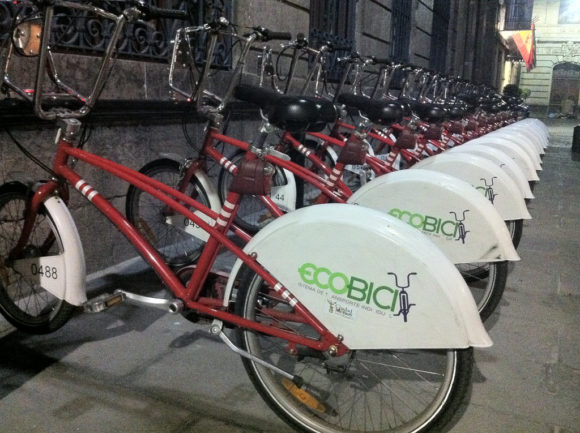 Bikesharing in Mexico City - ecobici