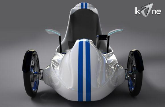 Ikone Elektroauto Elektrodreirad Karim Guelmi Fun-E-Cycles