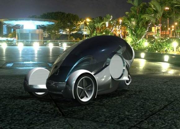 Apple iSync Apple Car Designstudie von Nathan Williams
