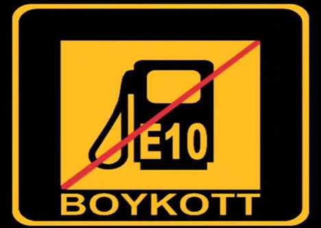 Kraftstoff E10 Ethanol Boykott Deutschland
