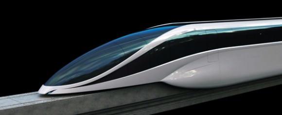 EOL Maglev Magnetschwebebahn Designstudie Vanja Valencak Konzept Transrapid