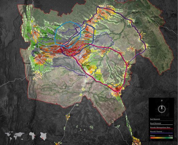 Nairobi Kenia Stadtentwicklung Stadtplanung 2030 Afrika Austin Smith:Lord Vision