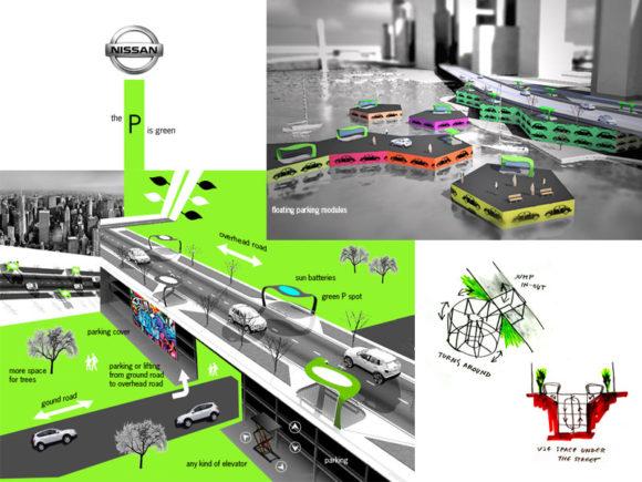 Green P Modernes Parkraumkonzept Zukunft Algis Berziunas Laima Rimkute