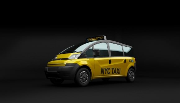 Karsan V1 New York City Taxi der Zukunft Yellow Cab