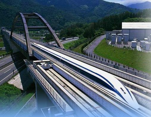 Chuo-Shinkansen Magnetschwebebahn Japan JR-Maglev MLX01 Japan-maglev Osaka Tokio