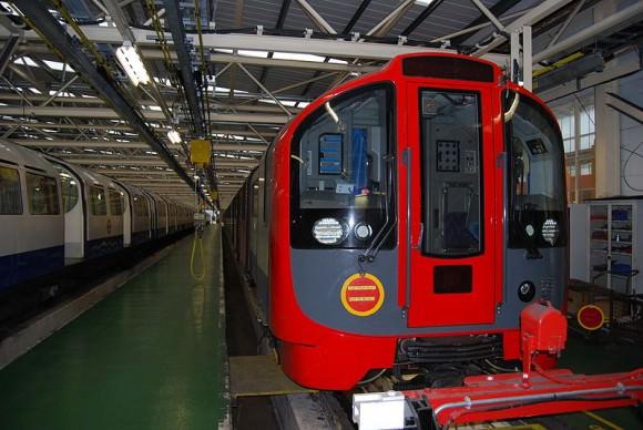 London Underground 2009 Tube Stock U-Bahn
