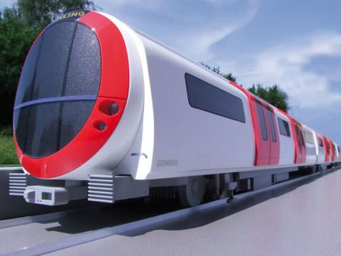 Siemens U-Bahn London Konzept Railtex Designstudie Zukunft