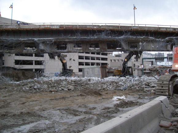 Carmgeddon Grund Abriss Brücke Interstate 405