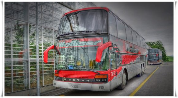 Reisebus Setra Schweiz Fernverkehr Doppelstockbus Regulierung