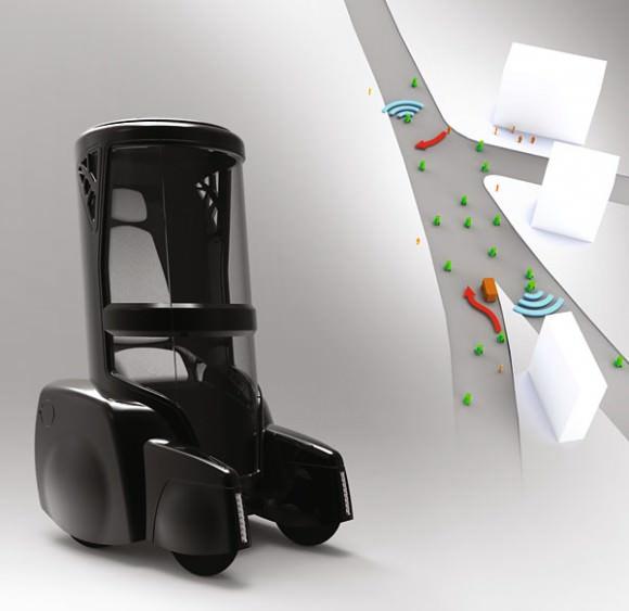 Robert Hagenstrom Urban Flow Elektroauto Zukunft Podcar Designstudie Konzeptfahrzeug