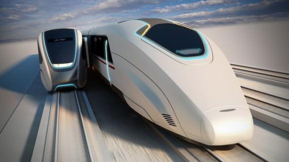 Designstudie Moving Platforms von Priestmangoode London - die Revolution im Eisenbahn- und Zugverkehr
