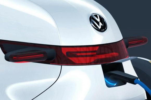 Volkswagen NILS Elektroauto Konzeptstudie Stadtauto Designstudie Mikroauto Ladestecker