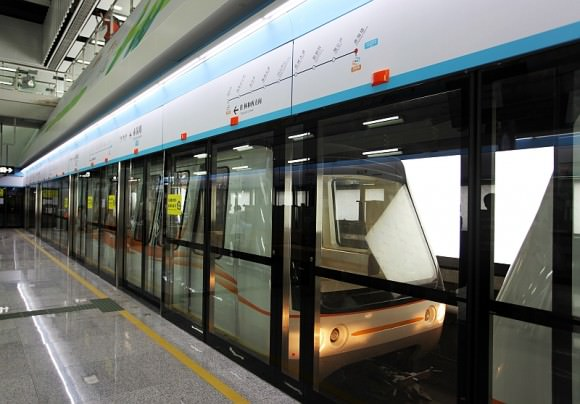 INNOVIA APM 100 Bombardier Guangzhou Metro China