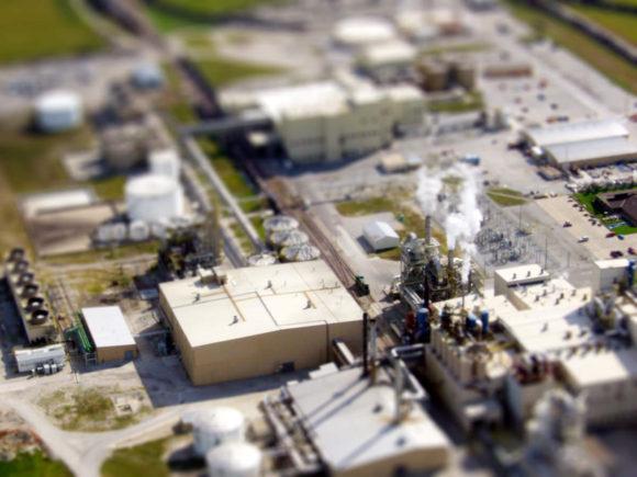 Bioethanolherstellung in einer Raffinerie in den USA