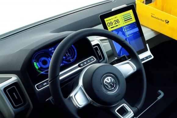 Volkswagen eT! Designstude Zustellfahrzeug Deutsche Post Briefzustellung der Zukunft