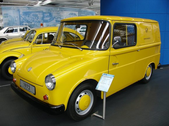 Zustellfahrzeug VW Fridolin der Deutschen Post 1972