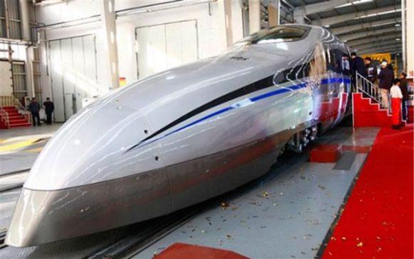 CIT 500 Geschwindigkeitsrekord Hochgeschwindigkeitszug China