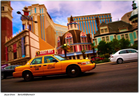 Yellow Cab in Las Vegas USA Creative Commons