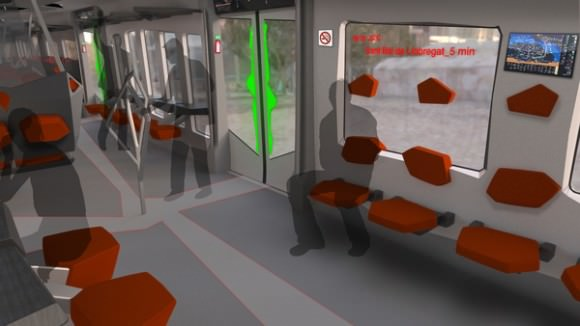 Alstom Deconstruccio Zug Spanien Nahverkehrszug Designstudie Guide Dobero Ruben Oya