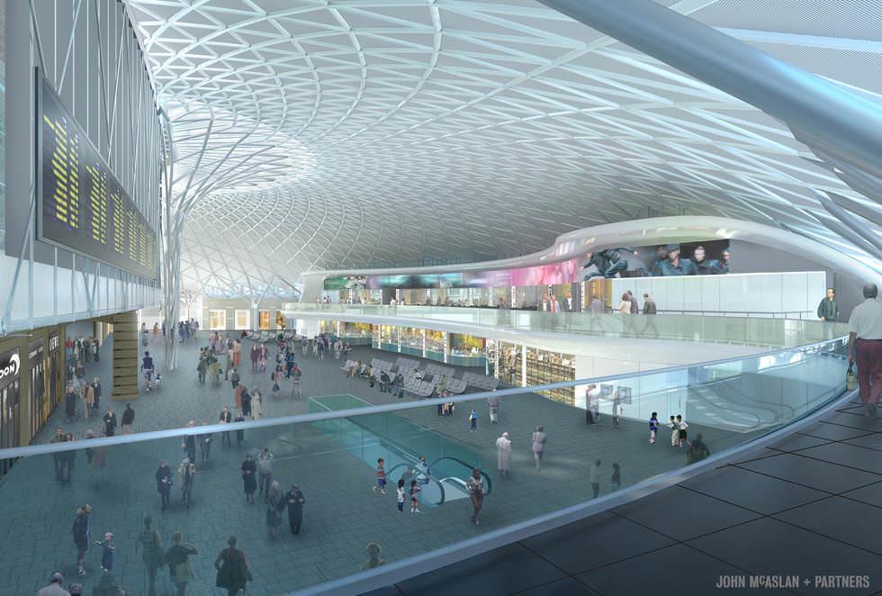 Umbau des Londoner Bahnhofs King's Cross