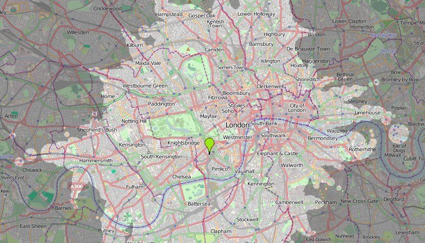 ÖPNV in London Qualität des Nahverkehrs Zeitabhängigkeit