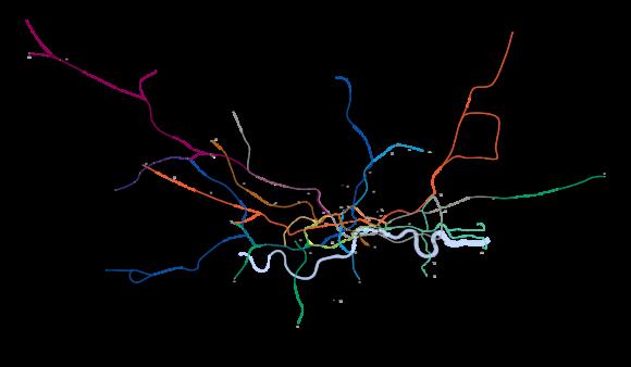 Karte London Underground