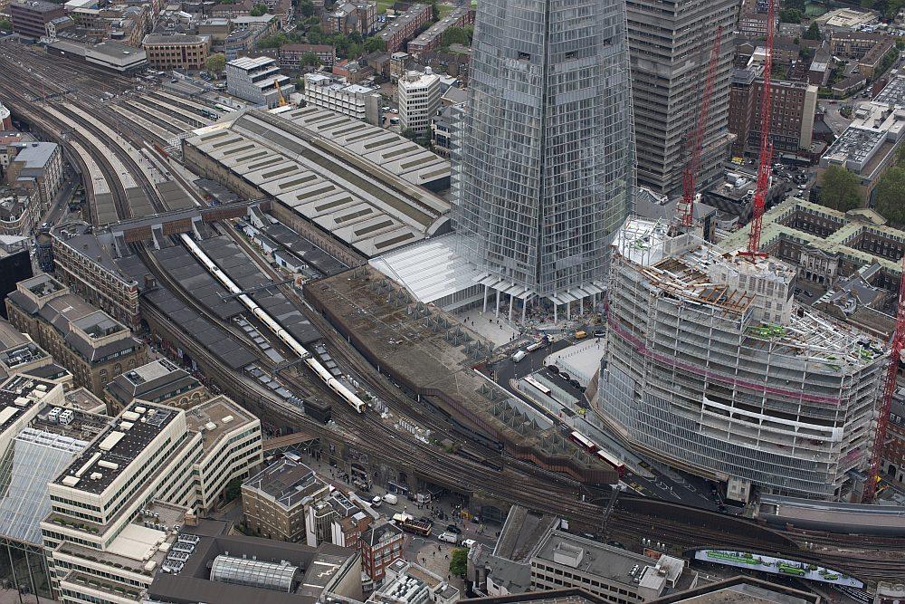 [Luftbilder] London gestaltet seine Bahnhöfe und Eisenbahninfrastruktur neu