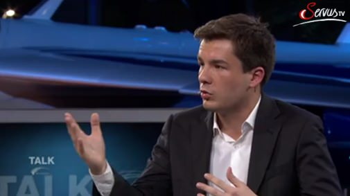 Martin Randelhoff Fernsehauftritt Talkshow Servus.tv