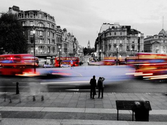 Routemaster auf Londons Straßen