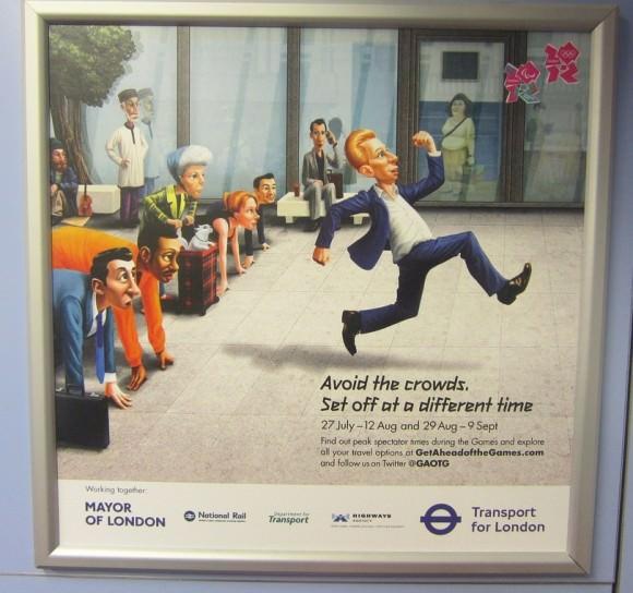 Warnung der TfL vor Verkehr in London während der Olympischen Spiele