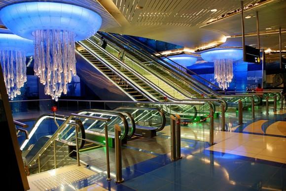 Dubai U.Bahn Station