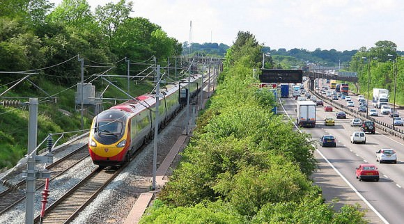 Britische Klasse 390 von Virgin Trains