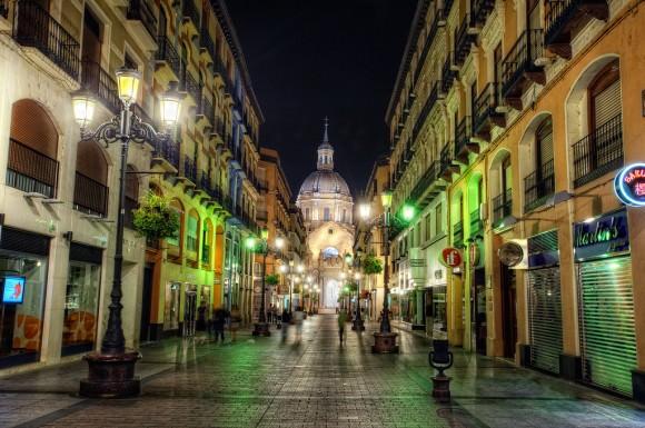 Calle de Alfonso I, Zaragoza (Spanien)