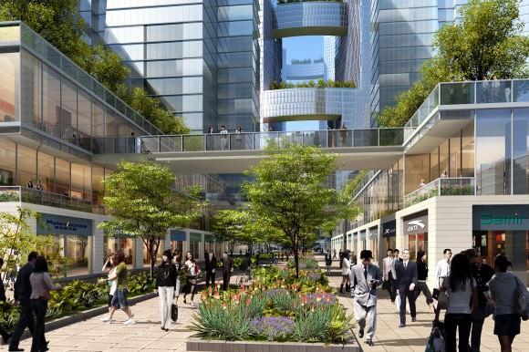 Adrian Smith + Gordon Gill Architecture Great City Chegdu City China